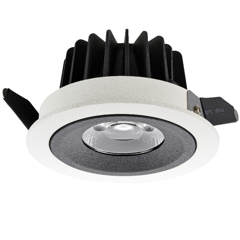 Dim to warm short ceiling light adjustable LED downlight